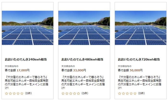 新電力おおいた_電力_ふるさと納税⑥